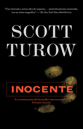 Inocente by Scott Turow