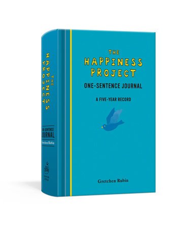 The Happiness Project One-Sentence Journal by Gretchen Rubin