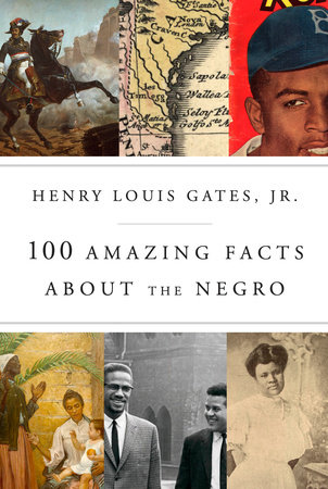 The cover of the book 100 Amazing Facts About the Negro