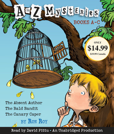 A to Z Mysteries: Books A-C by Ron Roy