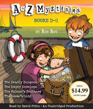 A to Z Mysteries Volume 2: D-G by Ron Roy