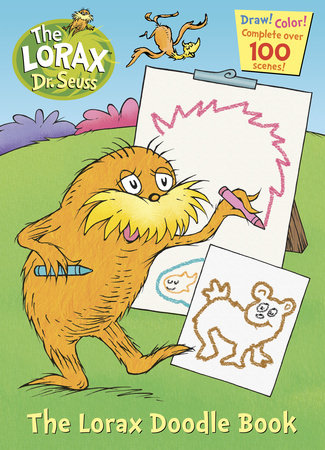 The Lorax Doodle Book by Golden Books
