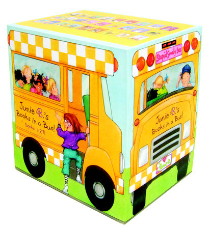 Junie B.'s Books in a Bus! (Books 1-27!) by Barbara Park