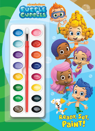 Ready, Set, Paint! (Bubble Guppies) by Golden Books