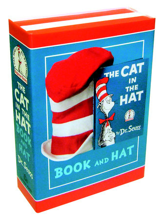 The Cat in the Hat Book and Hat by Dr. Seuss