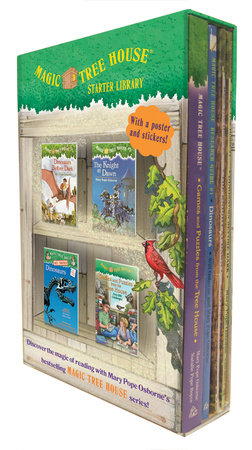 Magic Tree House Starter Library Boxed Set by Mary Pope Osborne, Will Osborne and Natalie Pope Boyce