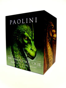 Inheritance Cycle 4-Book Hard Cover Boxed Set (Eragon, Eldest, Brisingr, Inheritance)