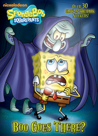 Boo Goes There? (SpongeBob SquarePants) by Golden Books