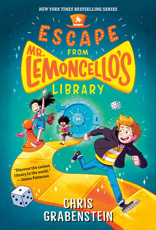 Escape from Mr. Lemoncello's Library Book Cover Picture