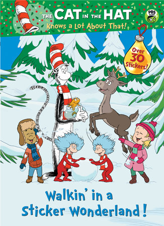 Walkin' in a Sticker Wonderland! (Dr. Seuss/Cat in the Hat) by Golden Books