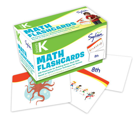 Kindergarten Math Flashcards by Sylvan Learning