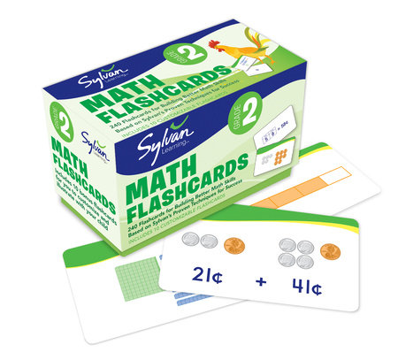2nd Grade Math Flashcards by Sylvan Learning