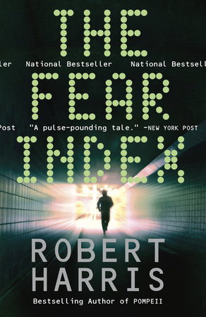The cover of the book The Fear Index