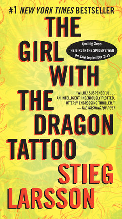 The cover of the book The Girl with the Dragon Tattoo