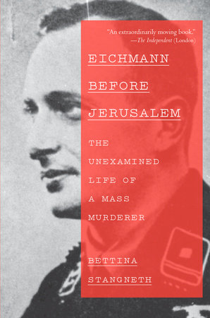 The cover of the book Eichmann Before Jerusalem