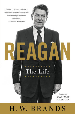 The cover of the book Reagan
