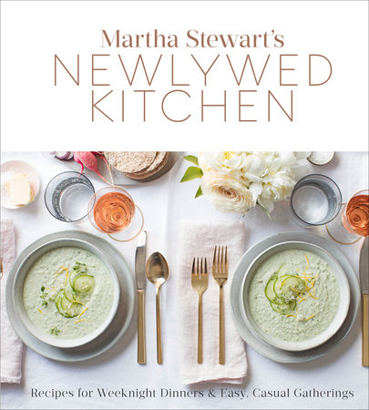The cover of the book Martha Stewart's Newlywed Kitchen