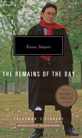 The Remains of the Day Book Cover Picture