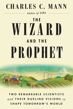 The cover of the book The Wizard and the Prophet