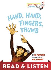 Hand, Hand, Fingers, Thumb: Read & Listen Edition