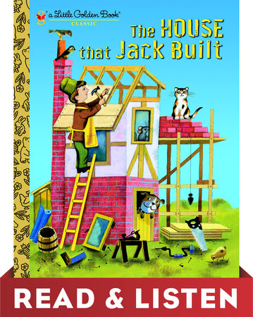 The House That Jack Built by Golden Books