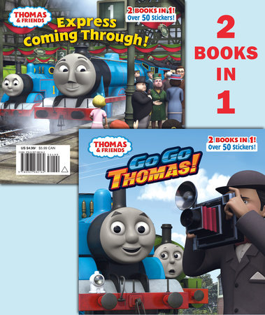 Go Go Thomas!/Express Coming Through! (Thomas & Friends) by Rev. W. Awdry