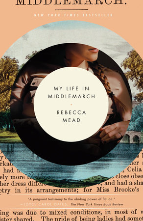 The cover of the book My Life in Middlemarch