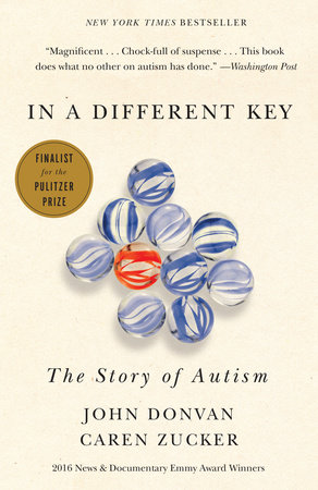 The cover of the book In a Different Key