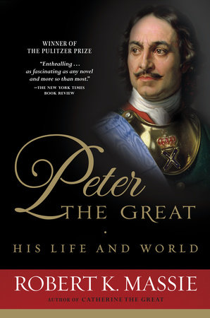 PETER THE GREAT Book Cover Picture
