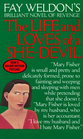 The cover of the book Life and Loves of a She Devil