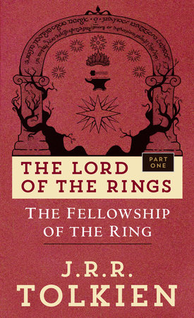 Cover art for the book The Fellowship of the Ring by J.R.R. Tolkien