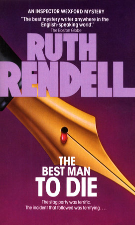 BEST MAN TO DIE by Ruth Rendell