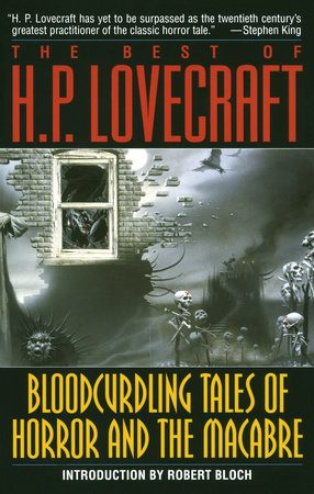 The cover of the book Bloodcurdling Tales of Horror and the Macabre: The Best of H. P. Lovecraft