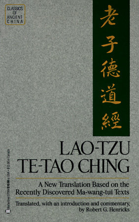 Lao Tzu: Te-Tao Ching by Robert G.Henricks