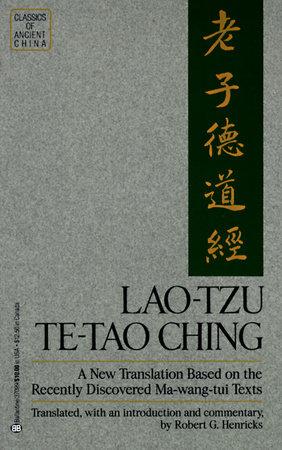 Lao Tzu: Te-Tao Ching