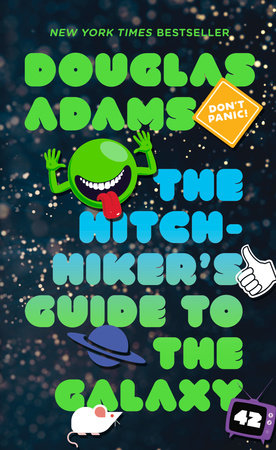 The Hitchhiker's Guide to the Galaxy Book Cover Picture