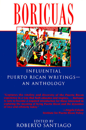 The cover of the book Boricuas: Influential Puerto Rican Writings - An Anthology