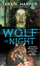 Wolf in Night