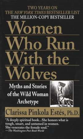 The cover of the book Women Who Run with the Wolves