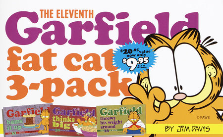 The Eleventh Garfield Fat Cat 3-Pack by Jim Davis