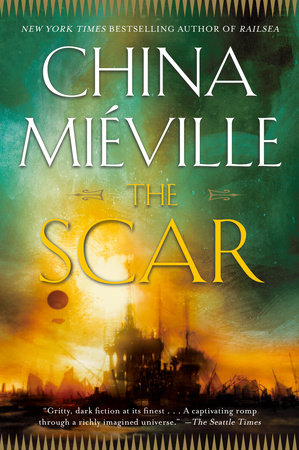 The cover of the book The Scar