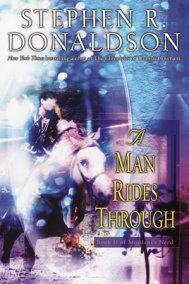 A Man Rides Through