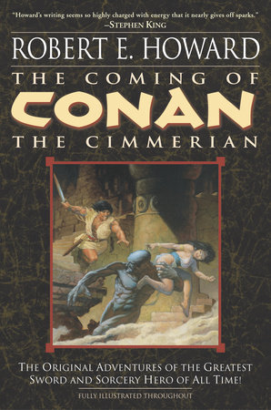 The cover of the book The Coming of Conan the Cimmerian