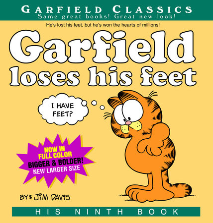 Garfield Loses His Feet