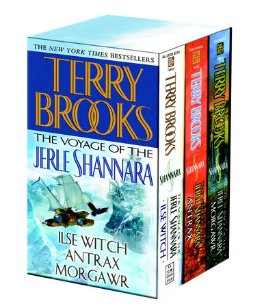 Voyage of the Jerle Shannara 3c box set MM by Terry Brooks