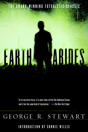 The cover of the book EARTH ABIDES