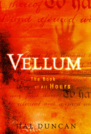 The cover of the book Vellum