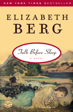 The cover of the book Talk Before Sleep