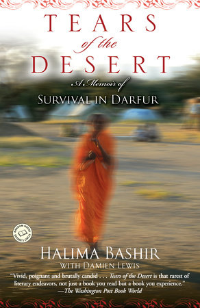 The cover of the book Tears of the Desert