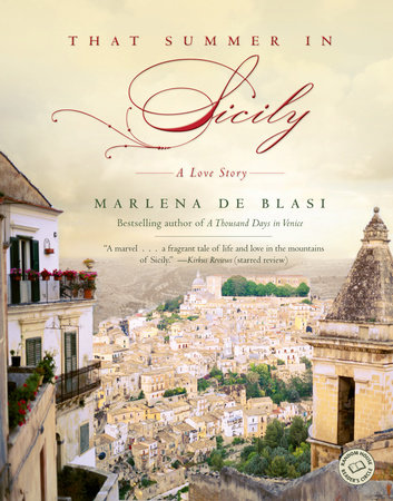 That Summer in Sicily by Marlena de Blasi